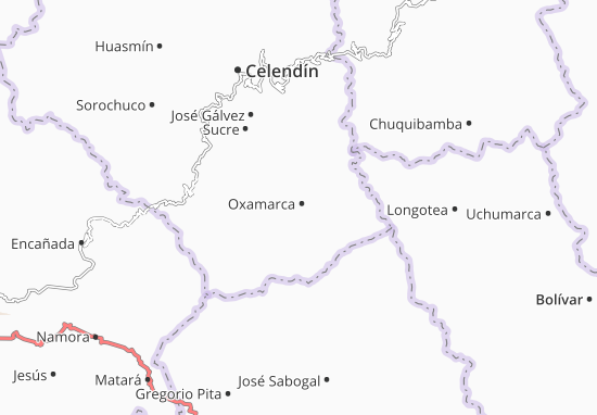 Mappe-Piantine Oxamarca