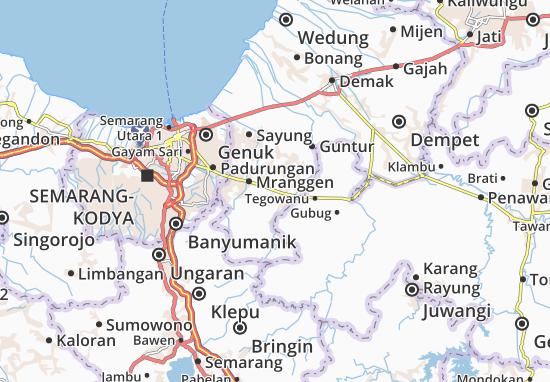 Mapas-Planos Karangawen