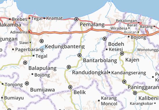 Mapas-Planos Bantarbolang