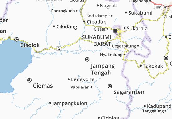 Jampang Tengah Map