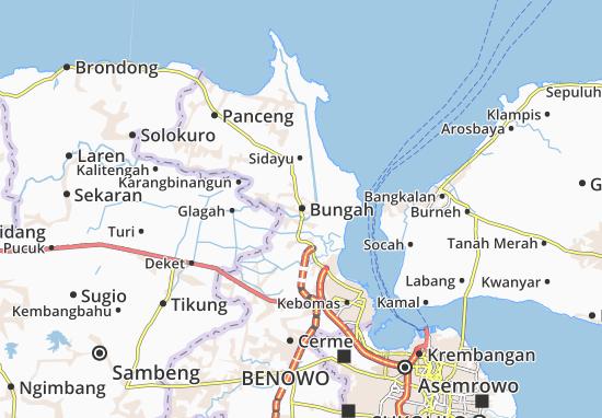 Mappe-Piantine Bungah