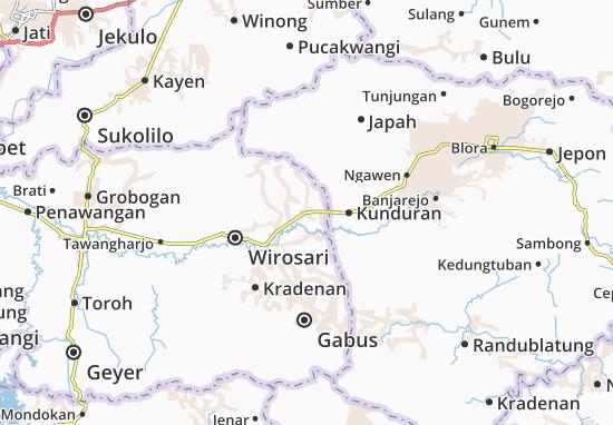 Ngaringan Map