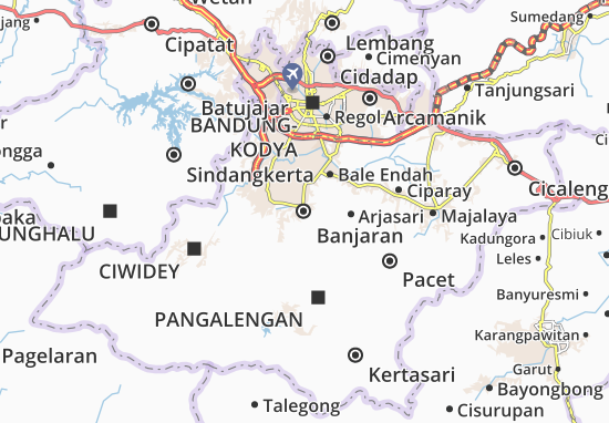 Kaart Plattegrond Banjaran