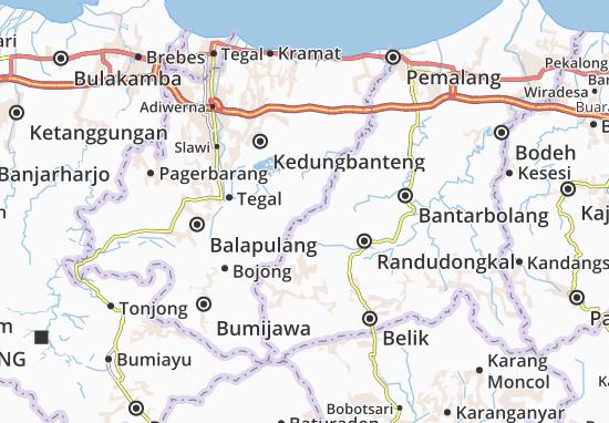 Mappe-Piantine Jatinegara