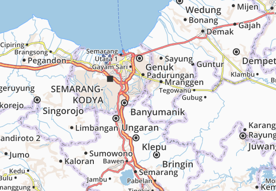 Mapas-Planos Tembalang 1