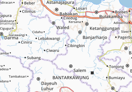 Cibingbin Map