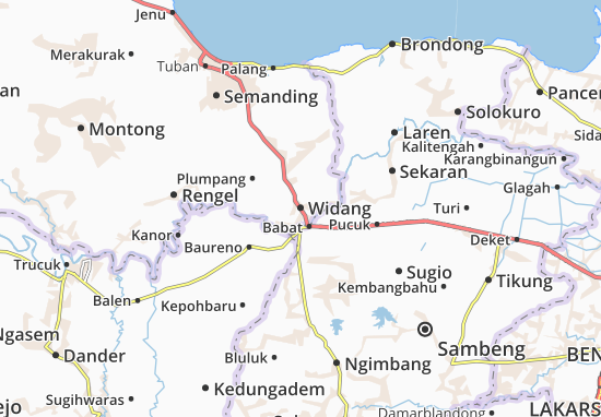 Mappe-Piantine Widang