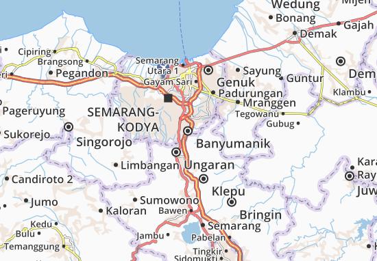 Mapas-Planos Banyumanik