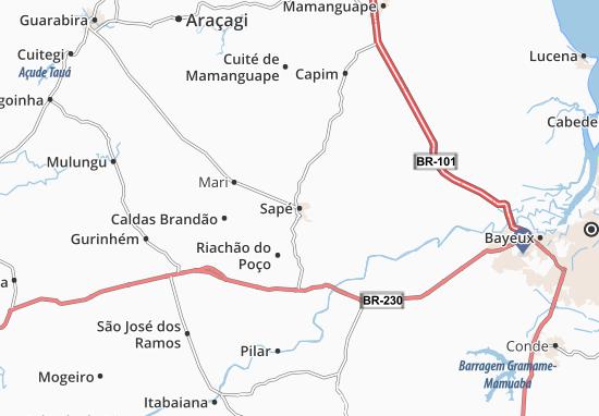 Mapas-Planos Sapé