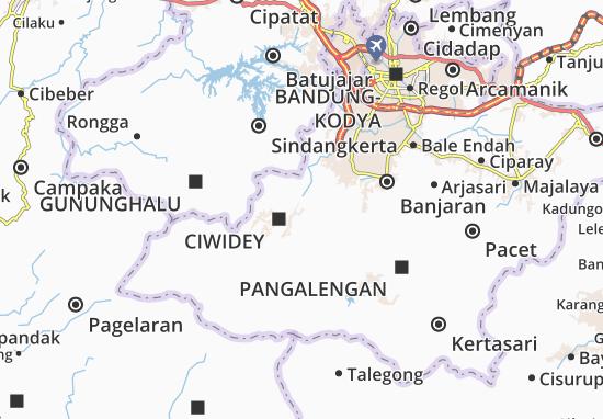 Pasir Jambu Map