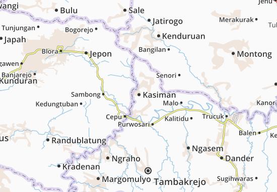 Kasiman Map