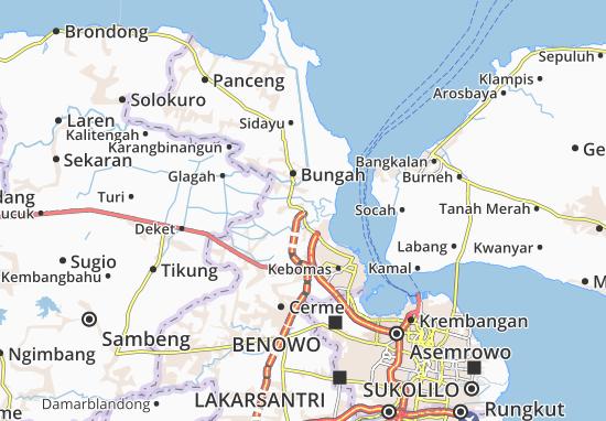 Manyar Map