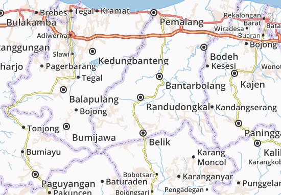 Randudongkal Map
