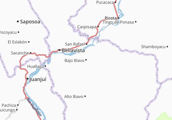 Bajo Biavo Map