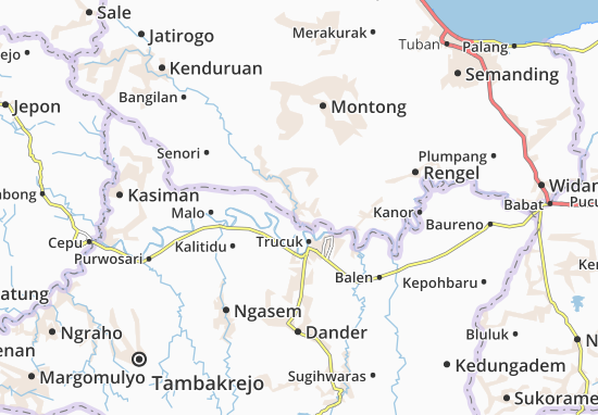 Parengan Map