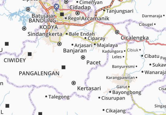Pacet Map