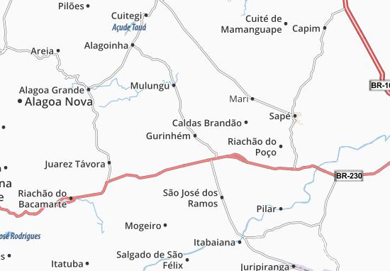 Gurinhém Map