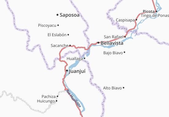 Mappe-Piantine Huallaga