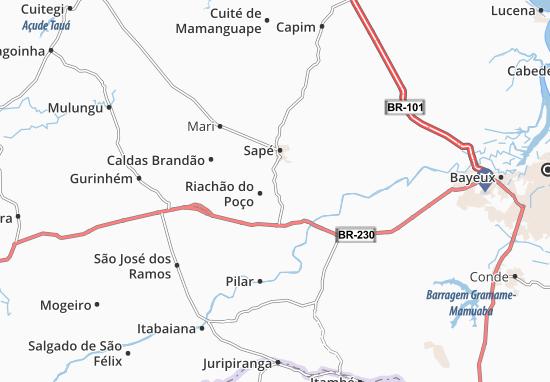 Sobrado Map