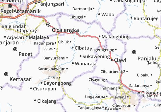 Sukawening Map