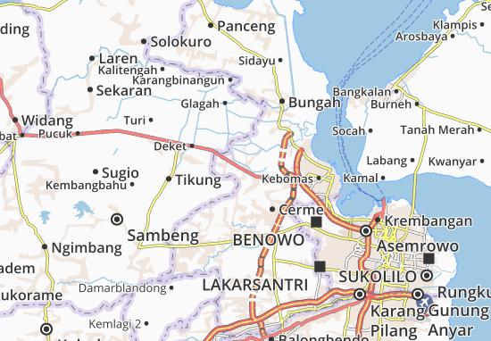 Mappe-Piantine Duduk Sampeyan