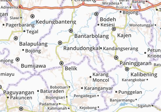 Watukumpul Map
