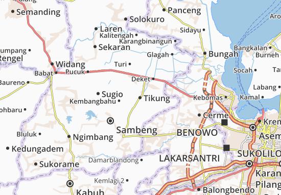 Tikung Map