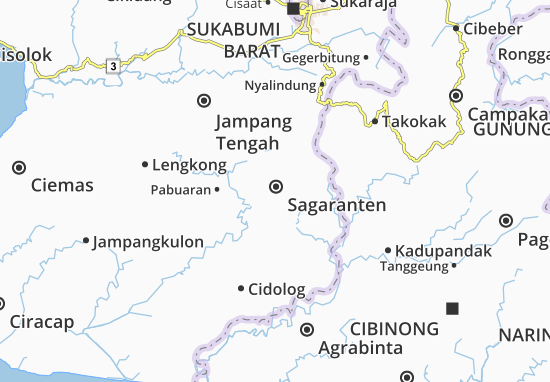 Sagaranten Map