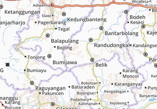 Mapas-Planos Pulosari