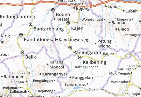 Paninggaran Map