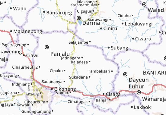 Jatinagara Map