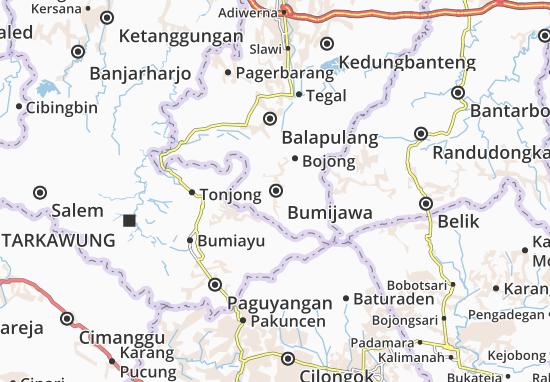 Bumijawa Map