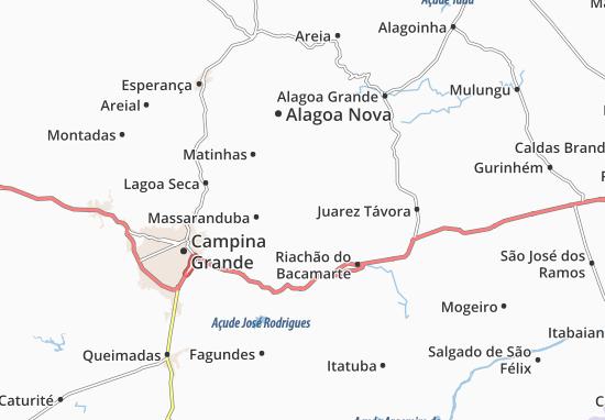 Massaranduba Map