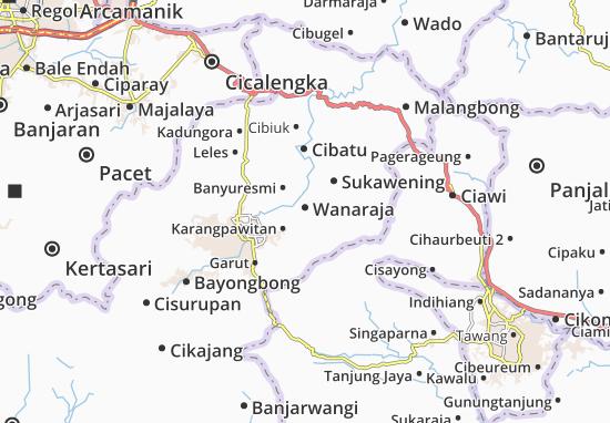Wanaraja Map