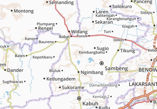 Mappe-Piantine Kedungpring