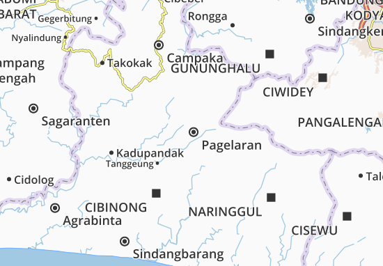 Mapa Pagelaran