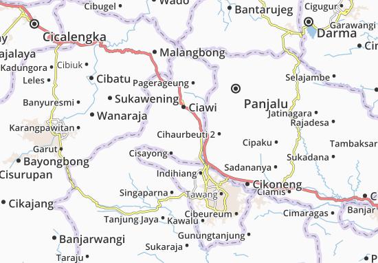 Jamanis Map