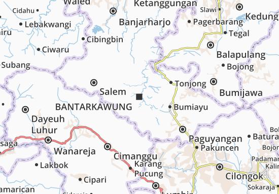 Mapas-Planos Bantarkawung