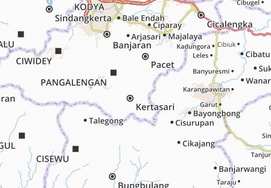Mapa Kertasari