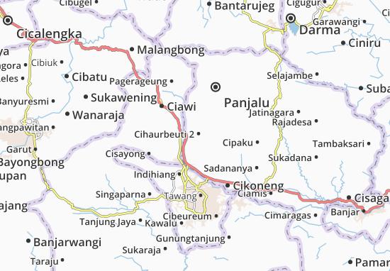 Cihaurbeuti 2 Map