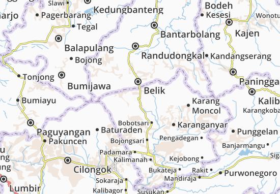Karangrejo Map