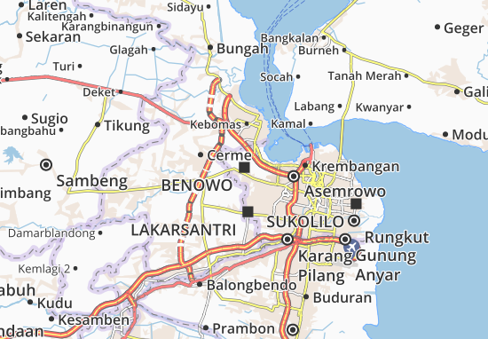 Benowo Map