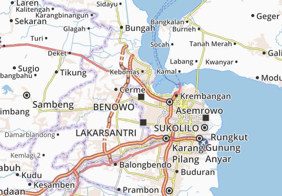 Mapas-Planos Benowo