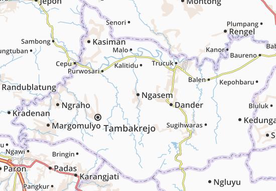 Ngasem Map
