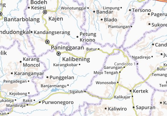 Wanayasa Map