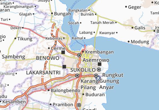 Asemrowo Map