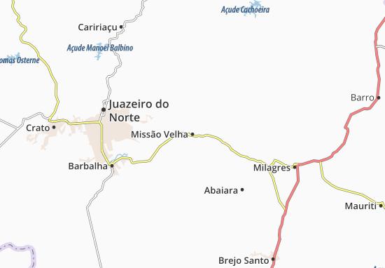 Mappe-Piantine Missão Velha