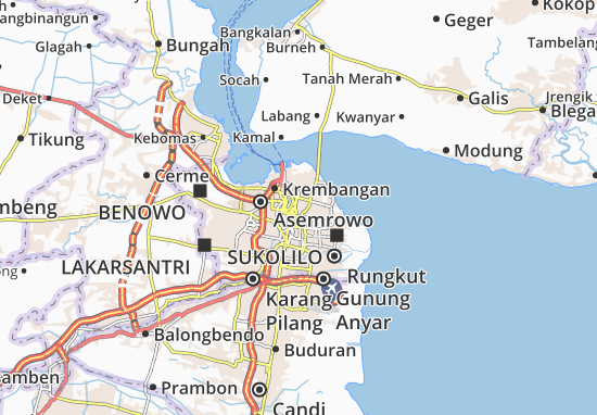Mapas-Planos Tambaksari