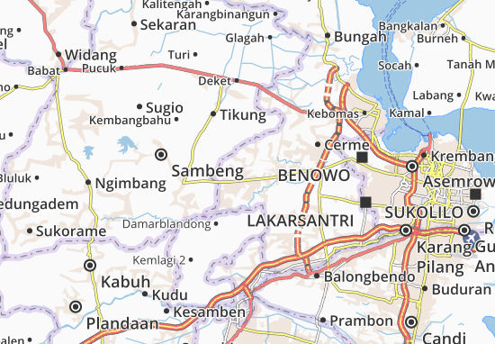 Mappe-Piantine Balong Panggang