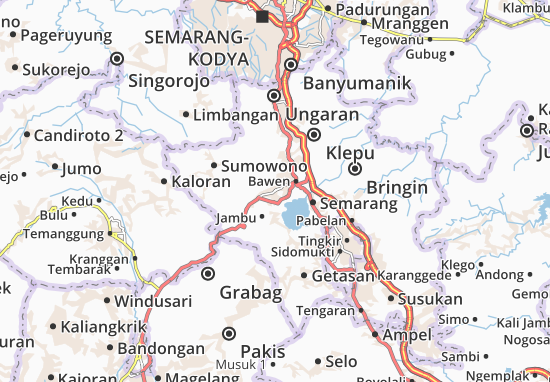 Ambarawa Map